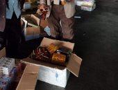 ضبط كمية كبيرة من المكملات الغذائية بقيمة 133 ألف جنيه بمطار القاهرة ..صور