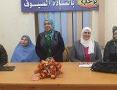 صور .. التوعية بفيروس كورونا في ندوة القومي للمرأة بكفر الشيخ واجراء 129 عملية جراحية