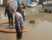 القليوبية تواصل أعمال رفع تراكمات المياه بعد 48 ساعة من سقوط الأمطار..صور