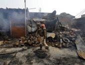 ارتفاع عدد قتلى أعمال العنف فى العاصمة الهندية إلى 19 شخصا