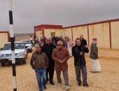 استمرار رفع الطوارئ بمدن ومدارس وسط سيناء لمواجهة أخطار السيول.. صور