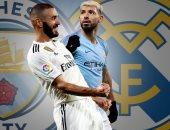 التشكيل المتوقع لقمة ريال مدريد ضد مانشستر سيتى بدورى أبطال أوروبا
