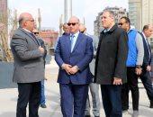 محافظ القاهرة: دهان الكبارى والعقارات بمسار نقل المومياوات لمتحف الحضارات