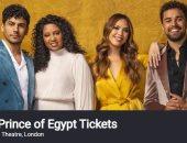 5 صور من مسرحية The Prince of Egypt المعروضة فى لندن