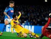 ملخص وأهداف مباراة نابولي ضد برشلونة في دوري أبطال أوروبا