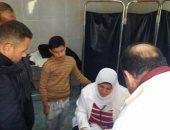 الكشف الطبى على 600 مريض مجانا وإزالة التعديات على الأراضى الزراعية بكفر الشيخ