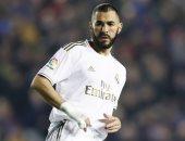 """مونشنجلادباخ ضد ريال مدريد.. بنزيما يقلص الفارق إلى 2-1 قبل النهاية """"فيديو"""""""
