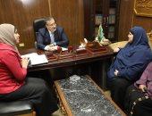 محافظ المنوفية يوجه بدراسة موقف الوحدة الصحية لقرية بوهه شطانوف