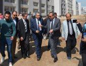 محافظ الغربية ورئيس هيئة التنمية الصناعية يتفقدان مشروع المنطقة الصناعية بالمحلة