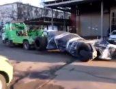 """الرجل الوطواط خارج عن القانون.. مصادرة سيارة """"باتمان"""" لسيرها بدون أرقام بموسكو"""