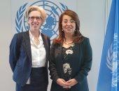 غادة والى: أمان موظفى الأمم المتحدة فى مركز فيينا على رأس الأولويات