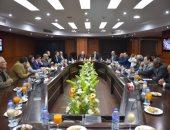 وزير الرياضة يناقش مع حسن مصطفى واللجنة المنظمة حقوق البث لبطولة العالم لليد 2021