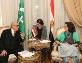 رئيس حزب الوفد يلتقي مندوبة الاتحاد الأوروبي لمناقشة عدد من الملفات