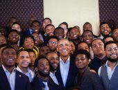 My Brother's Keeper.. أوباما يتذكر مبادرته للارتقاء بالملونين فى أمريكا بصورة