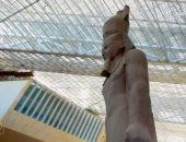 """شاهد.. لقطات خاصة لـ""""صباح الخير يا مصر"""" من داخل المتحف المصرى الكبير"""