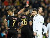 ريال مدريد يستأنف ضد طرد راموس أمام مانشستر سيتى فى دورى أبطال أوروبا