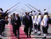 رئيس ألمانيا الاتحادية يصل الخرطوم فى زيارة يومين ..صور