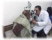 """الداخلية تشارك فى مبادرة """"نور الحياة"""" الرئاسية لعلاج أمراض العيون بالمجان"""