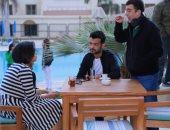 """أسبوع يفصل هيثم شاكر على الانتهاء من مسلسله """"حب عمرى"""""""