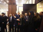 سياسيون ورجال دولة وفنانون ومشاهير يشاركون فى عزاء مبارك