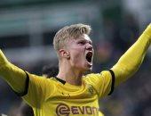 شاهد.. كل أهداف هالاند في الدوري الألماني حتى الآن