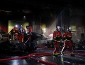 السيطرة على حريق هائل بمحيط محطة قطار باريس