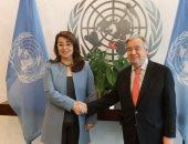 غادة والى تثنى على كلمة أمين عام الأمم المتحدة: دعم كامل لتمكين المرأة