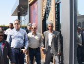 """وزير السياحة والآثار يفتتح بوابات معبد الأقصر بطراز """"الهوية البصرية"""""""