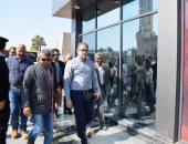 صور.. وزير السياحة والآثار يفتتح بوابات معبد الأقصر الجديدة