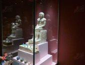 القطع الأثرية النادرة تزين متحف الغردقة قبل افتتاح رئيس الوزراء