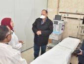 محافظ أسيوط يتفقد مستشفى الصدر والحميات لمتابعة جاهزيتها للطوارئ