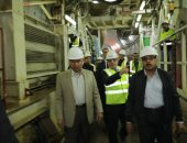 النقل: إنهاء المرحلة الثالثة بالخط الثالث للمترو 2023 بتكلفة 32.8 مليار جنيه