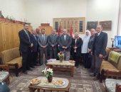 لجنة القياس والتقويم بالأعلى للجامعات في زيارة لكليات جامعة المنوفية
