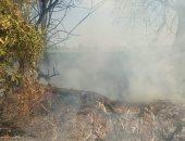السيطرة على حريق شب فى خط أنابيب سولار ببنها بالقليوبية ..صور