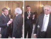 الرئيس الفرنسى يقلّد أمين معلوف وسام الاستحقاق الوطنى