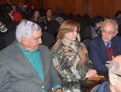 """فاروق حسني وزاهي حواس وإلهام شاهين في العرض الخاص لفيلم """"رقصة لا تنسى"""""""