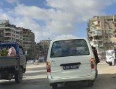 اضبط مخالفة.. ميكروباص بدون لوحة معدنية بشارع فريد سميكة بمصر الجديدة