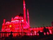 مصر تضىء واجهات قلعة صلاح الدين ومعابد الكرنك وفيلة بعلم الصين