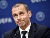 رئيس الاتحاد الأوروبي يعترف بصعوبة تحديد سقف لرواتب اللاعبين