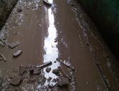 تراكم مياه الصرف الصحى بالشوارع.. شكوى أهالى قرية طنان بالقليوبية