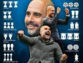 لقب كل 22 مباراة.. جوارديولا يواصل صناعة التاريخ بعد حصد كأس الرابطة
