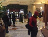 الأهلي يصل فندق الإقامة بجنوب أفريقيا استعدادا لمواجهة صن داونز.. صور