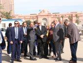 وزير التنمية المحلية يوجه بسرعة الانتهاء من تطوير ميدان التحرير