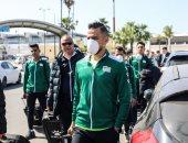 بعثة المصرى تصل المغرب لمواجهة نهضة بركان فى الكونفدرالية