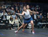 سفح الأهرامات يحتضن نهائى بطولة مصر الدولية للاسكواش
