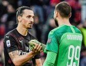 ميلان يفتقد حارسه دوناروما بجانب إبراهيموفيتش أمام يوفنتوس في كأس إيطاليا