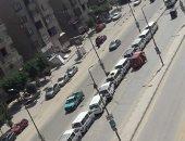 شكوى من موقف سيارات سرفيس عشوائى فى شارع متولى الشعراوى بمدينة نصر