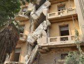 محافظة القاهرة: إحالة مالك عقار مصر الجديدة المنهار للنيابة لقيامه بأعمال تخريبه