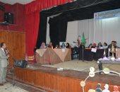 صور.. مسابقات علمية وثقافية بالمركز الاستكشافى للعلوم لتنمية مهارات طلاب المنيا