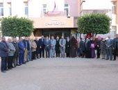 لجنة المراجعة الخارجية بالهيئة القومية لضمان جودة التعليم تزور جامعة بنها